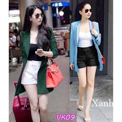 Áo khoác blazer form dài giống ngọc trinh VK09 - V150