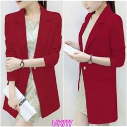 Áo khoác nữ Blazer form dài sành điệu VK111 - V145