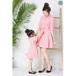 Đầm xòe tay lỡ Mẹ và Bé VMB27 - V255