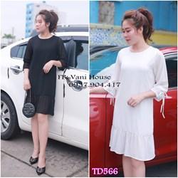 Đầm suông tay loa xinh xắn TD566 - V150