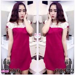 Đầm suông phối ren Suri VD116 - V140