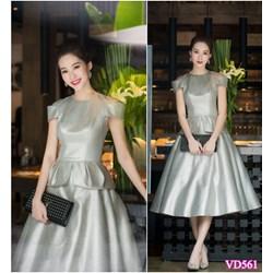Đầm xòe giống Hoa Hậu THU THẢO VD561- V150