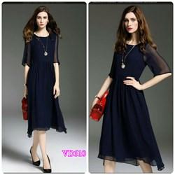 Đầm xoè tay lỡ cao cấp VD610 - V175