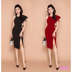 Đầm ôm body tay loe xẻ đùi VD643 - V150