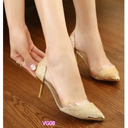 Giày cao gót đính kim sa VG08 - V75