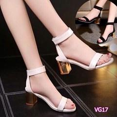 Giày cao gót đế trụ VG17 - V185