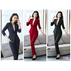 Set nguyên bộ áo Vest quần dài  TJ28 - V245