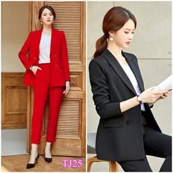 Set nguyên bộ áo Vest quần dài TJ25 - V265