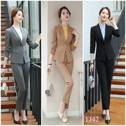 Set nguyên bộ áo Vest quần dài TJ42 - V325