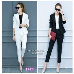 Set nguyên bộ áo Vest quần dài  TJ474 - V215
