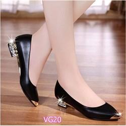 Giày gót đính đá VG20 - V185