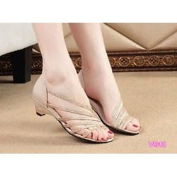 Giày sandal quai chéo VG18 - V185