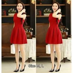 Đầm xòe chân váy xếp ly VD304 - V155