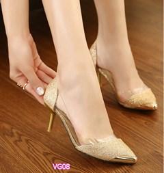 Giày cao gót đính kim sa VG08 - V185