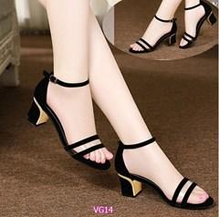Giày cao gót đế trụ VG14 - V185